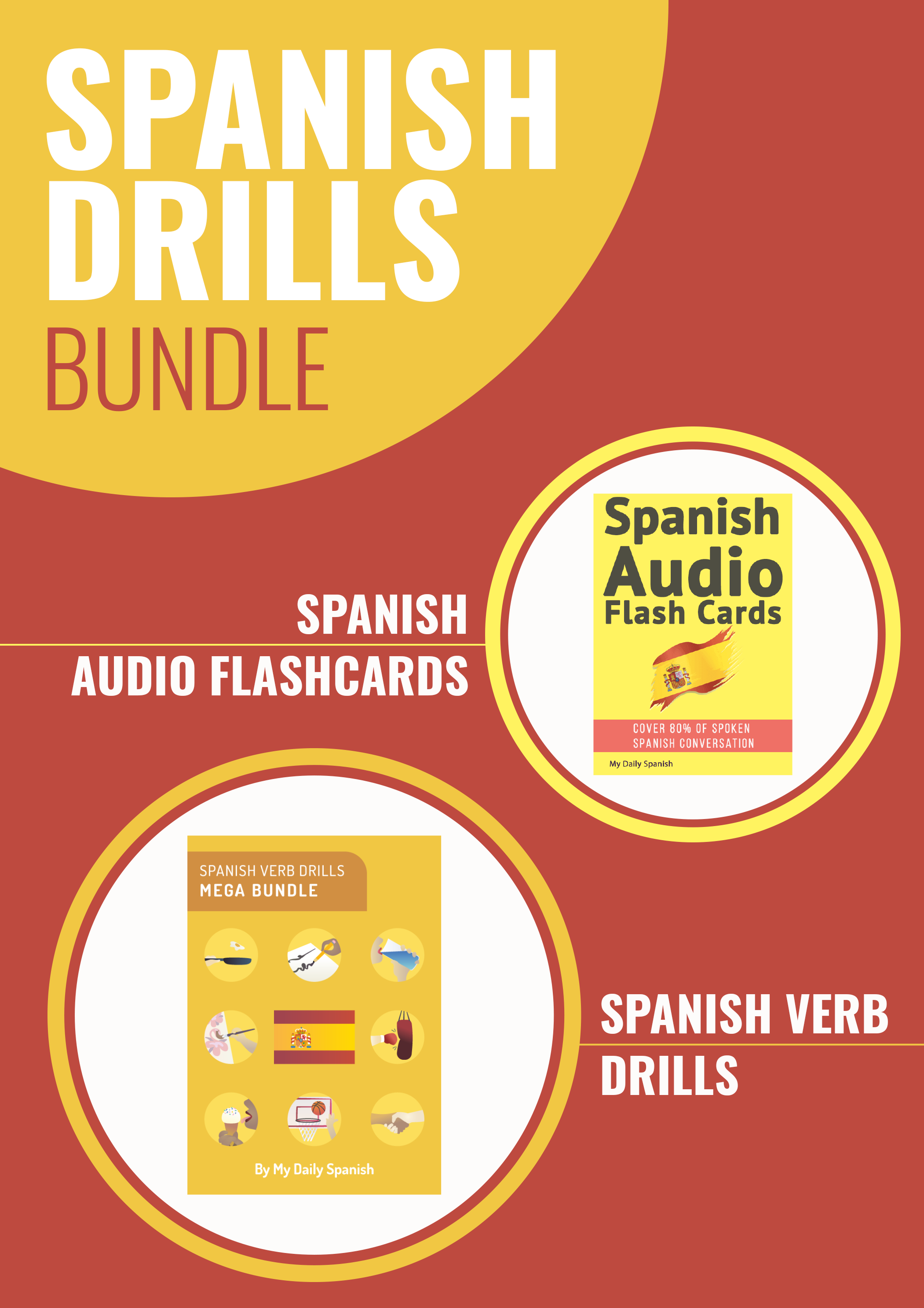 Spanish Audio Drills Bundle: Master Verb Conjugation and